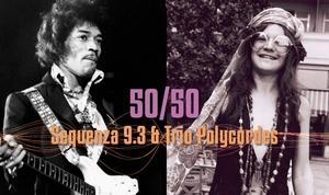 50/50 Janis Joplin/Jimi Hendrix